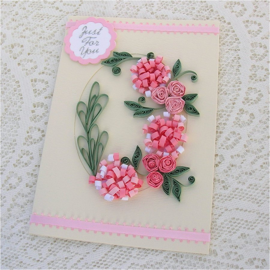 Paper Birthday Cards Online Handmade Quilled Ideas Art Craft Gift