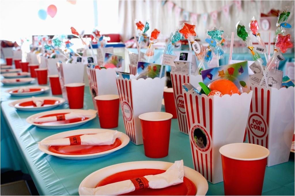 birthday party amusement park