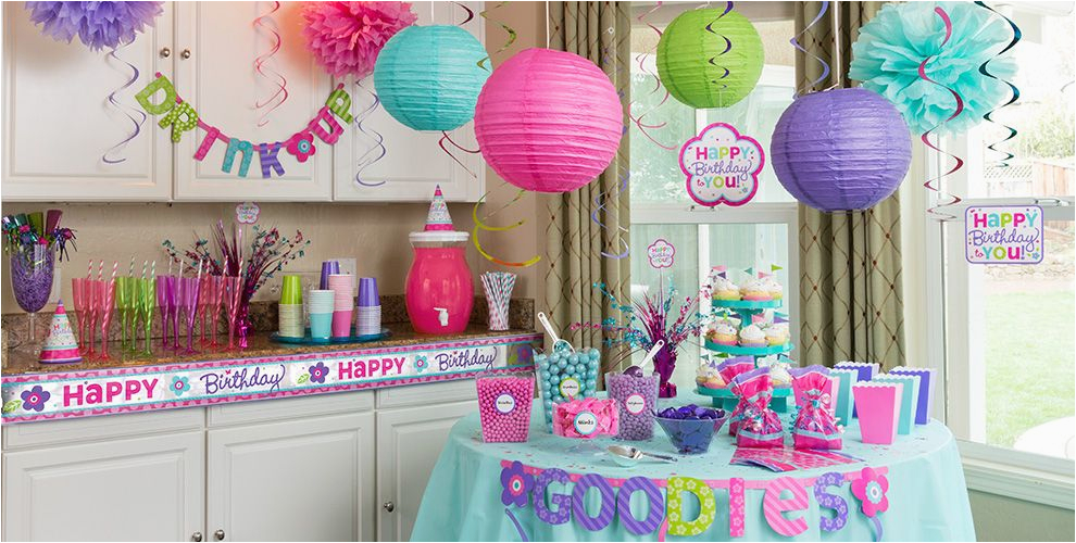 Party City Birthday Decoration Pastel Birthday Party Supplies Party City