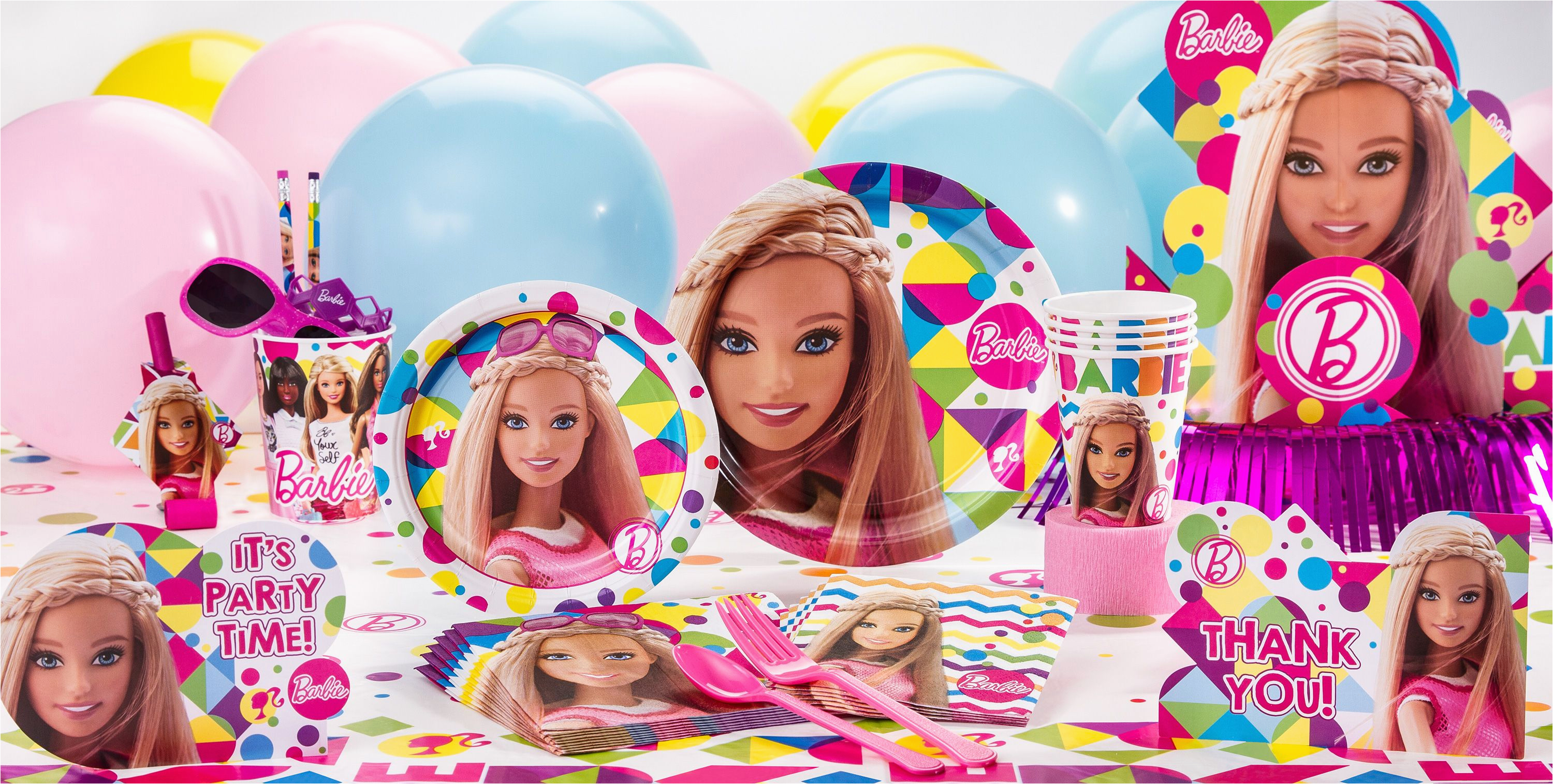 Party City Girl Birthday Decorations