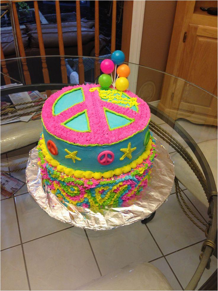 peace sign birthday