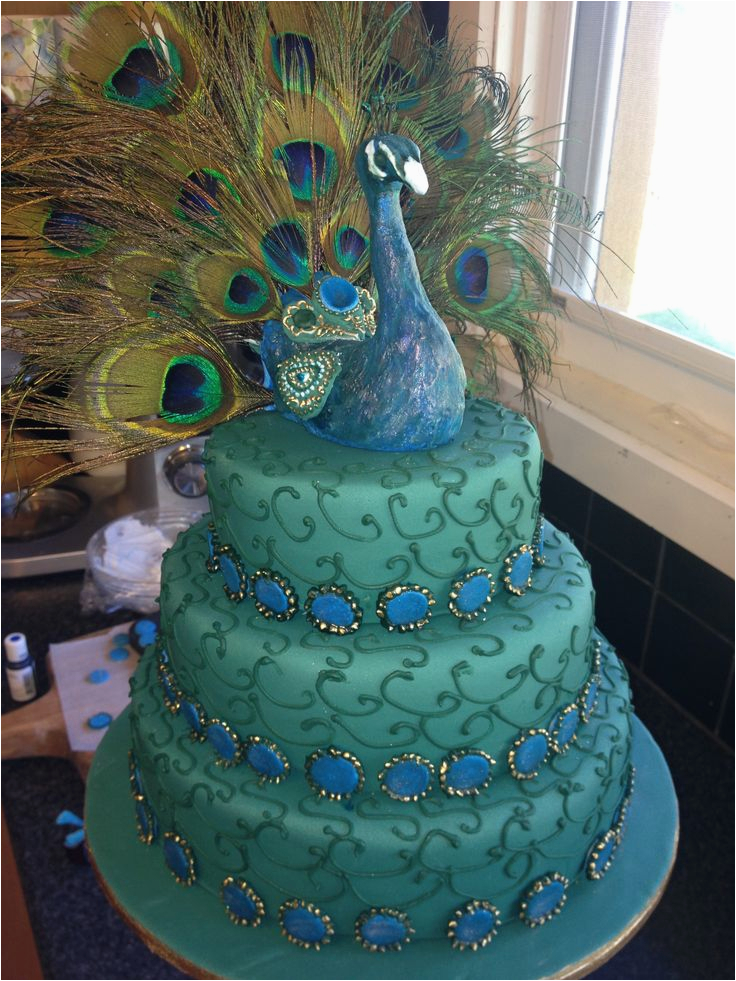 lydias peacock party ideas