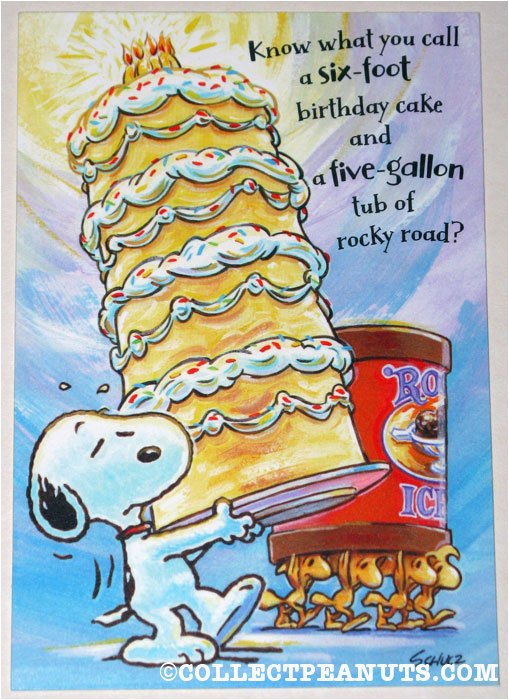 Peanuts Characters Birthday Cards Snoopy Quotes Quotesgram