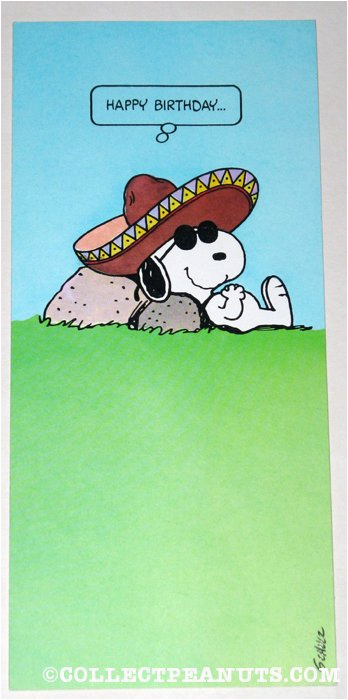 Peanuts Characters Birthday Cards The Gallery For Gt Snoopy Happy Dance