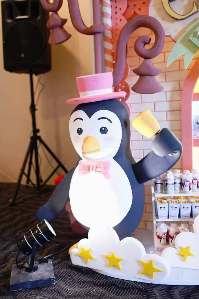 Penguin Decorations For Birthday Party Kara 39 S Party Ideas Mary