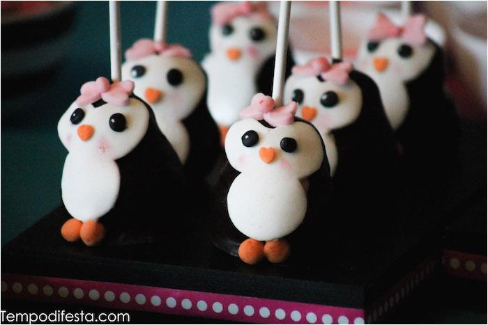 penguin themed birthday party