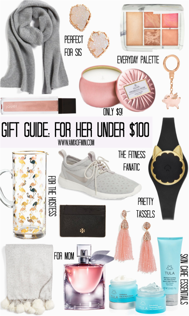gift guide for her under 100 the influenceher
