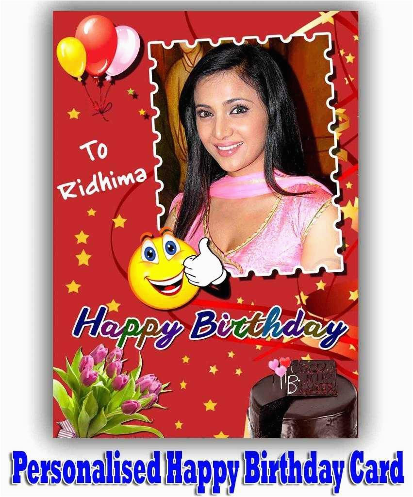 Custom Birthday Card Best Of Create Line Free Beauty