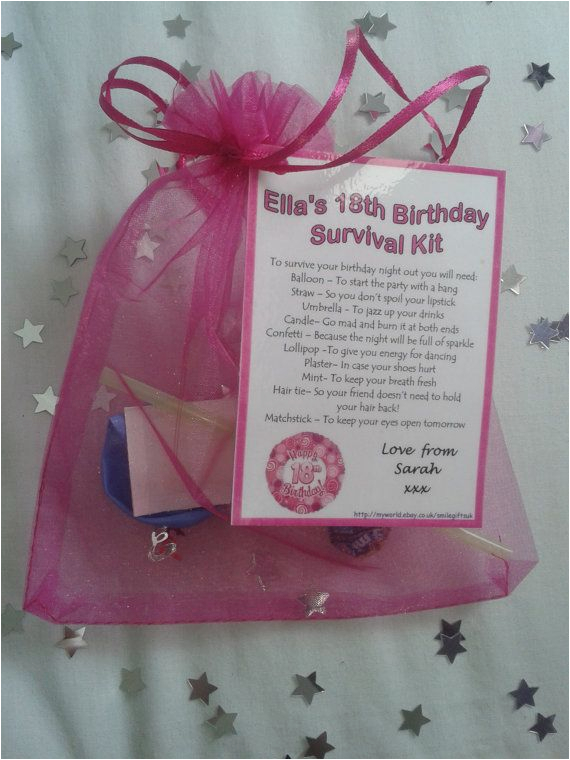 Personalised 18th Birthday Decorations Gifts For My Daughters Gift Ftempo