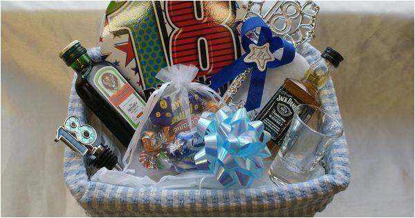 Personalised 18th Birthday Gifts For Her Gift Basket Boys