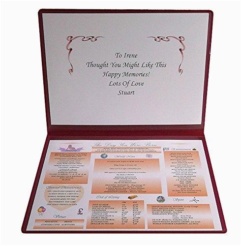 personalised 18th birthday gifts amazon co uk