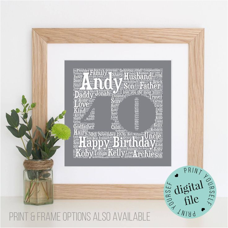 Personalised 30th Birthday Gifts For Her Best 25 Friend Ideas On