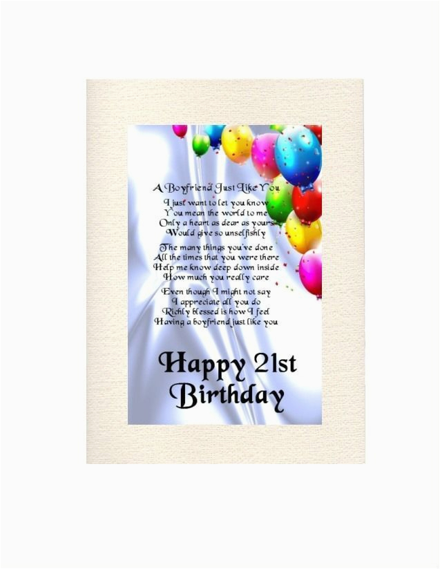 Personalised Birthday Cards For Boyfriend Best 25 21st Poems Ideas On Pinterest Happy