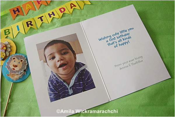 first birthday card from cardstore com review food corner