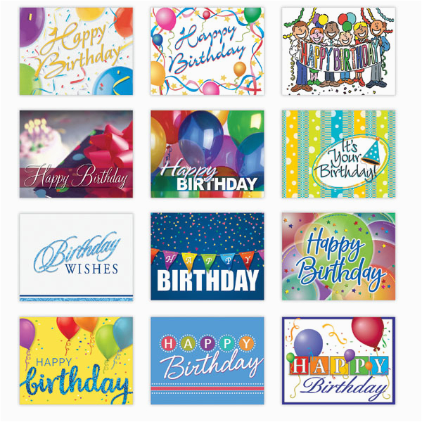 personalized happy birthday card assortment from g neil
