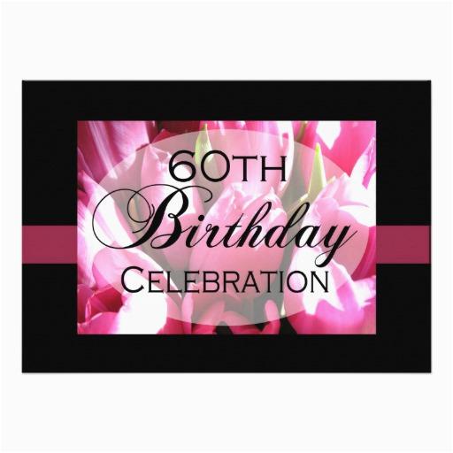 personalized 60th birthday party invitations zazzle