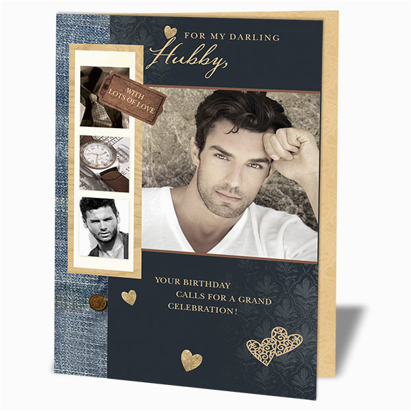 personalized birthday cards for husband