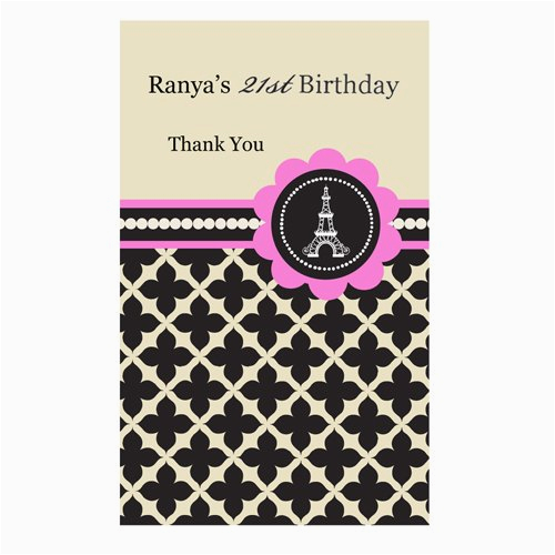 Personalized Birthday Playing Cards Themed