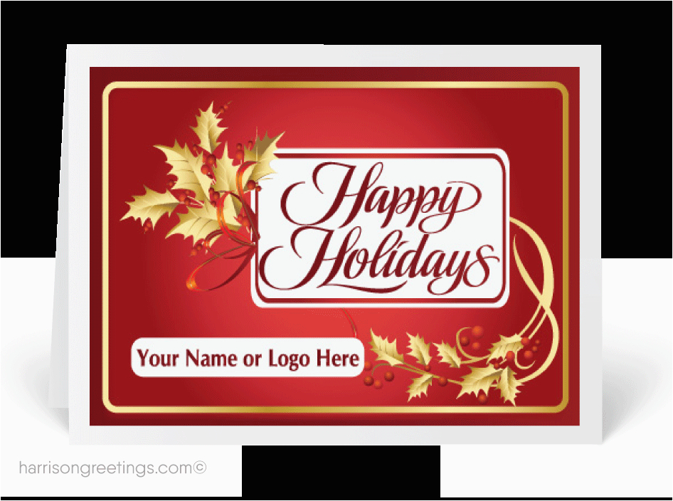 Personalized Business Birthday Cards Custom Industry Holiday C 4 42