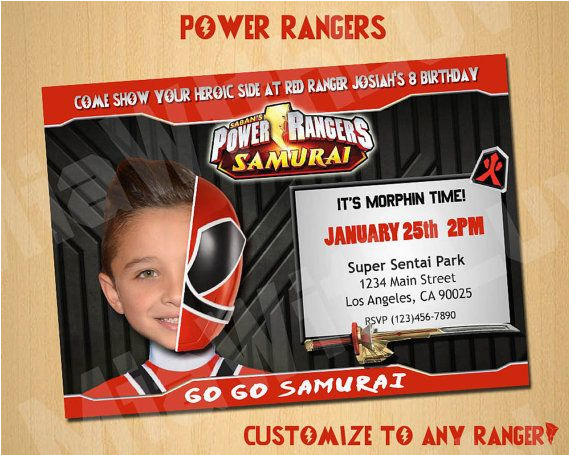 Power Rangers Birthday Party Ideas 46 Best