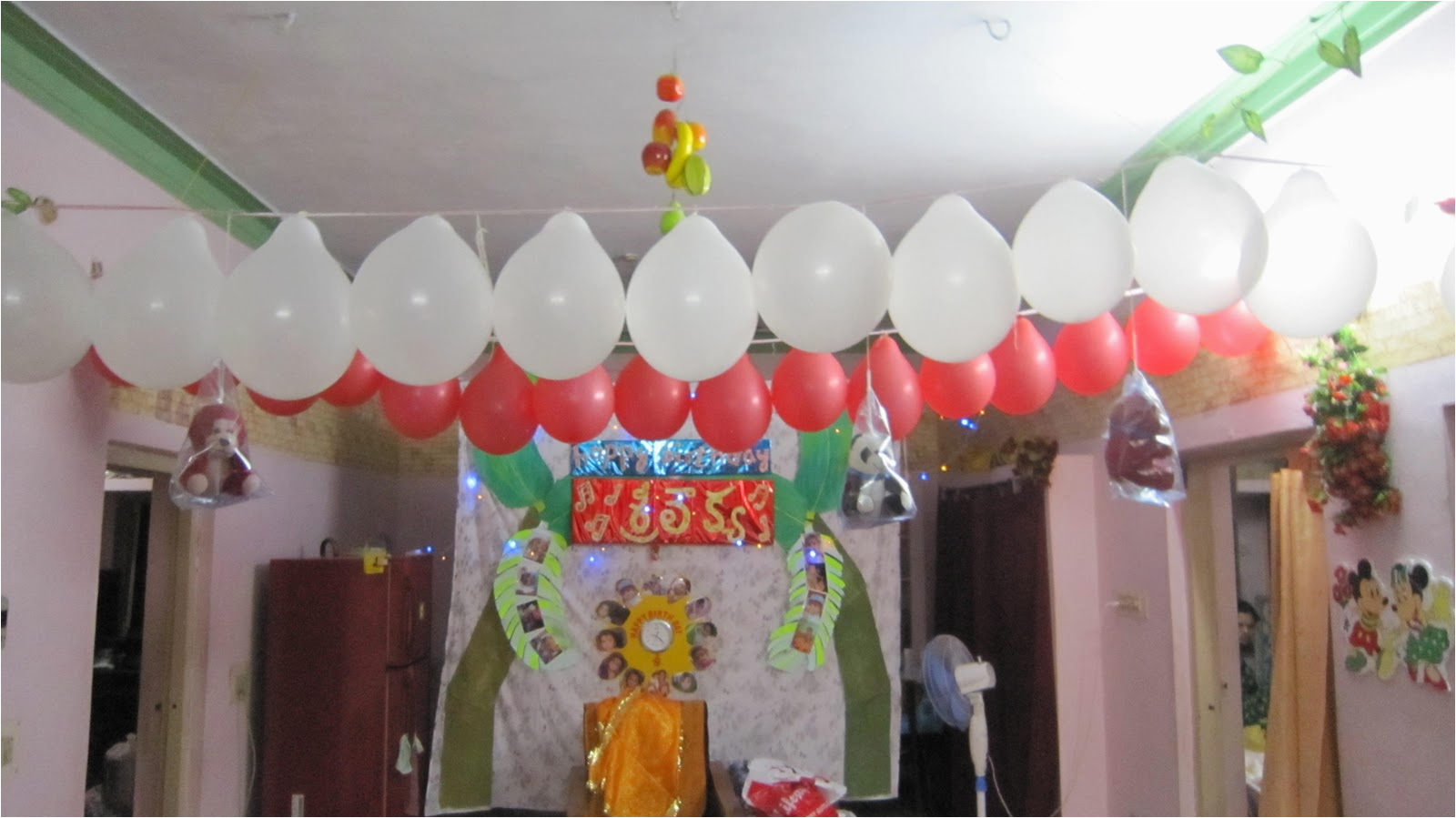 birthday decorations at home