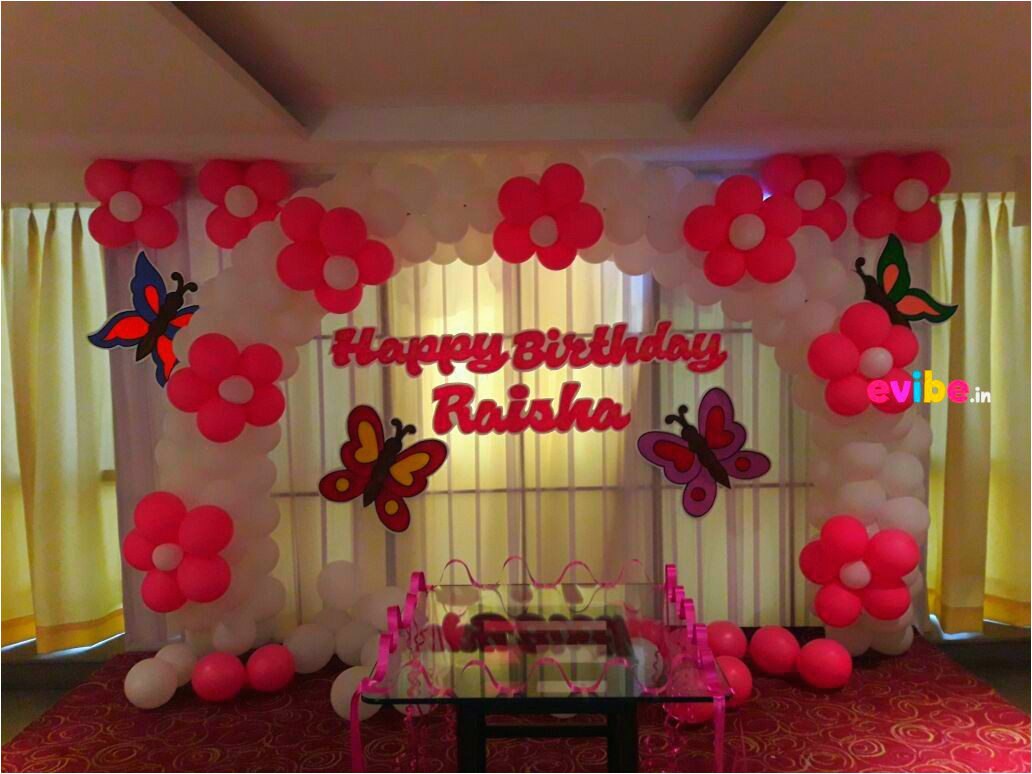 simple balloon decorations birthday party home hyderabad