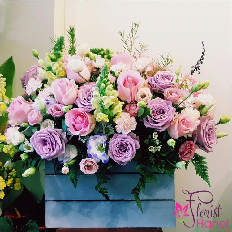 hanoi birthday flowers for mom