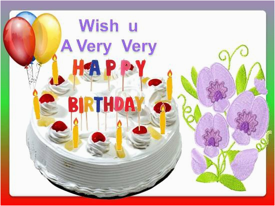 Beautiful Birthday Greetings Free Happy