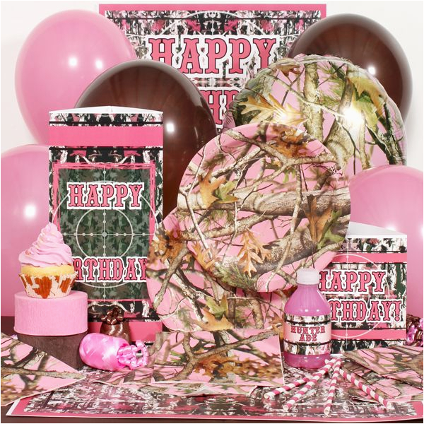 pink 20camo 201st 20birthday 20party 20supplies