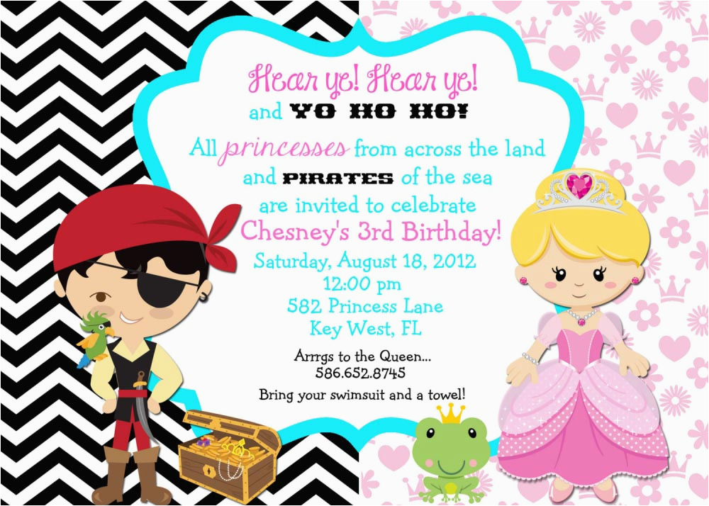 create pirate party invitations with your kid and have fun