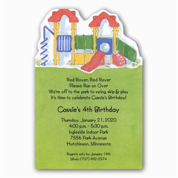 park playground birthday invitations p 73 21144dc