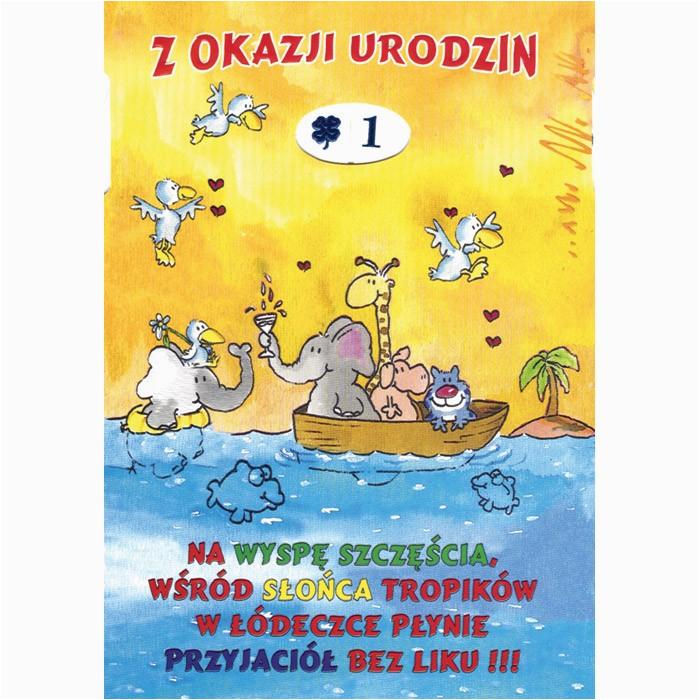 Polish Birthday Cards Kid 39 S Birthday Card Rotating Numbers Greeting Cards
