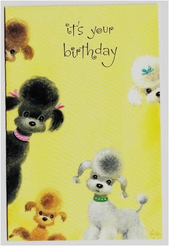 gorgeous poodle art