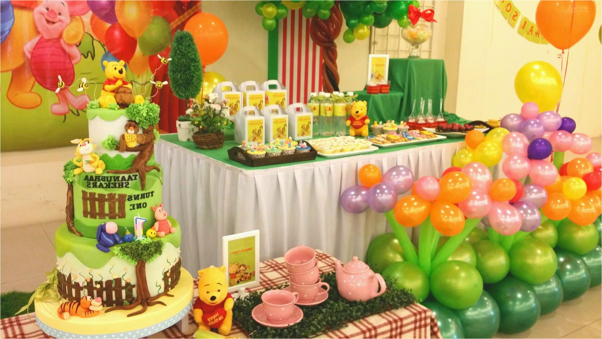 winnie the pooh party decorations ideas