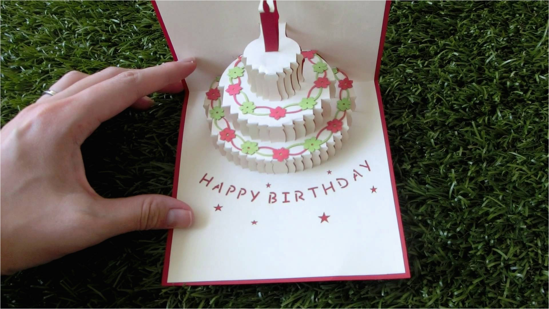birthday cake pop up card pattern www pixshark com