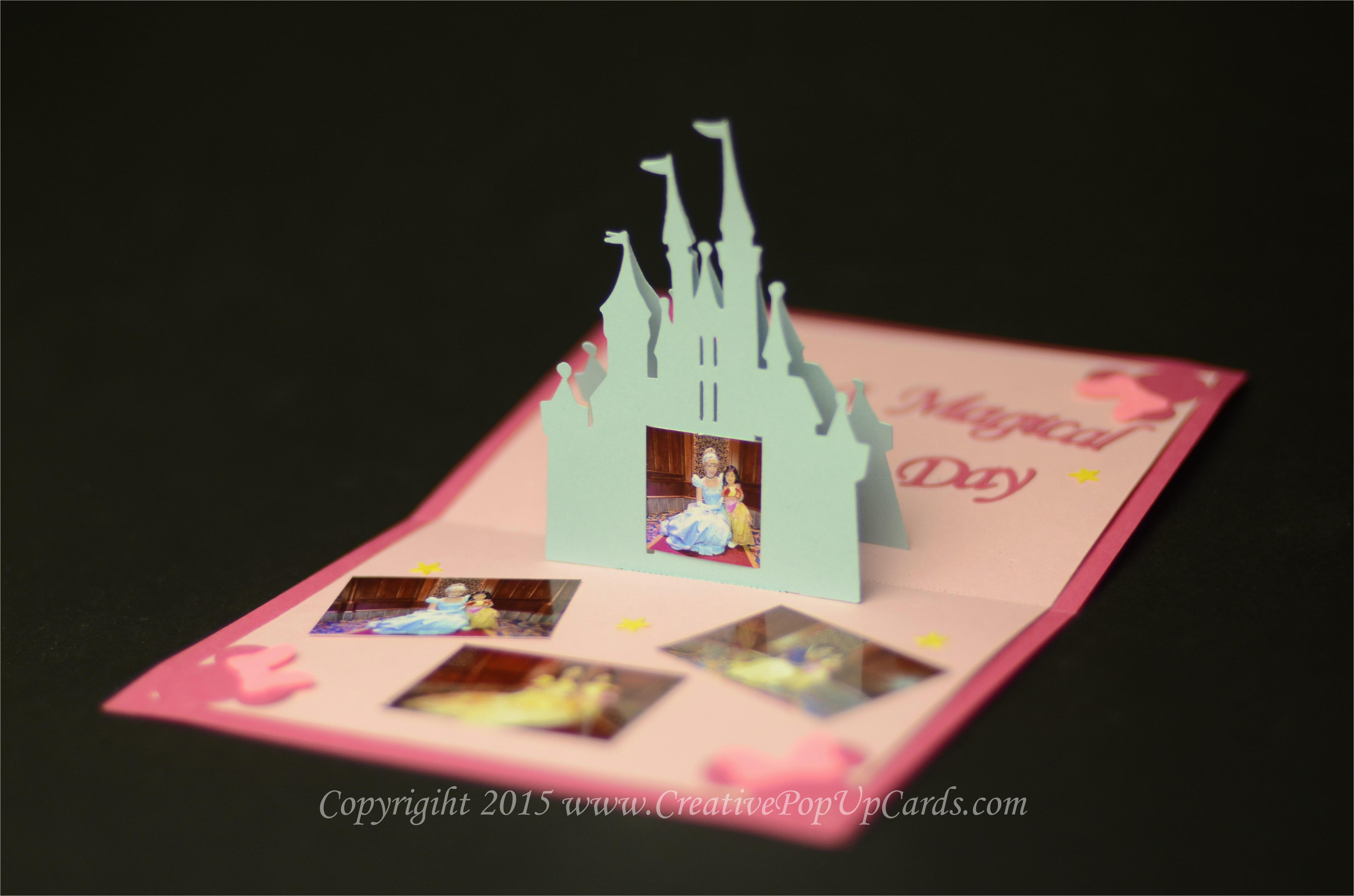 castle pop up card tutorial creative pop up cards
