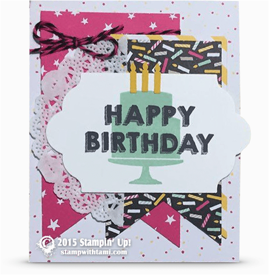 Pre Made Birthday Cards News Happy New Stampin Up Catalog Order Day