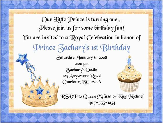 prince birthday party invitations