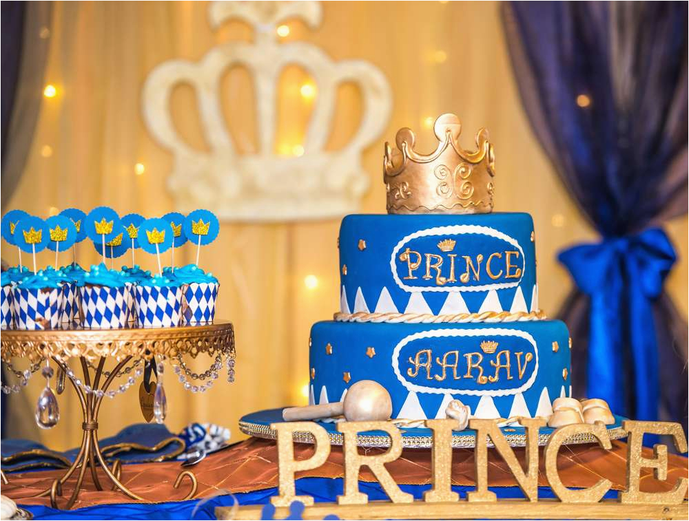 prince party theme decorations