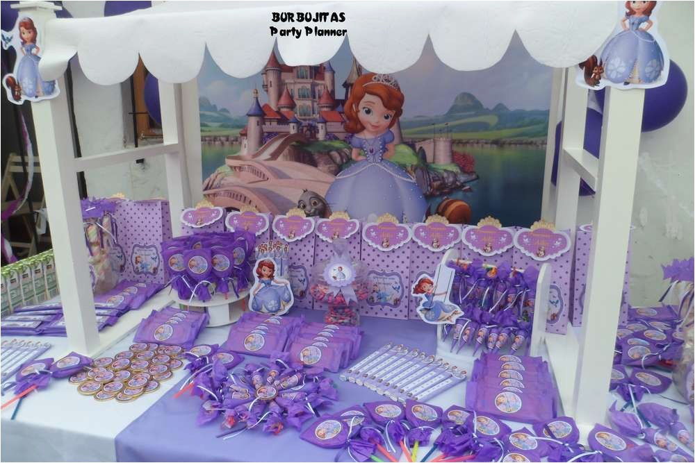 Princess Sofia Birthday Decorations Party Ideas Photo 1 Of 15