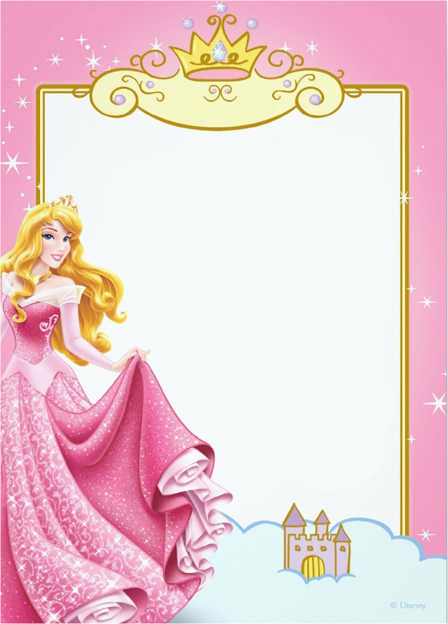 Princess Themed Birthday Invitation Cards Printable Card Invitations Online