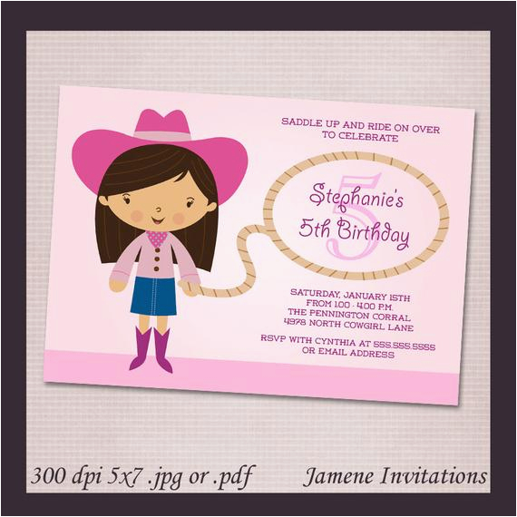 photograph regarding Free Printable Cowgirl Birthday Invitations identified as Print Your Individual Birthday Invites Totally free Crimson Cowgirl