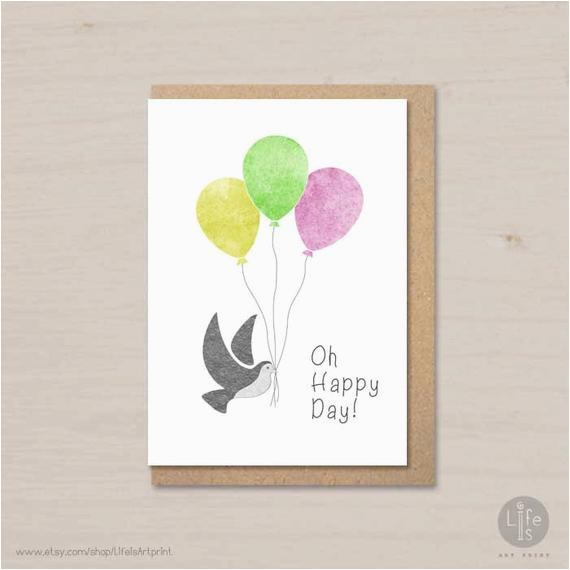 birthday card printable for kids and adults oh happy day