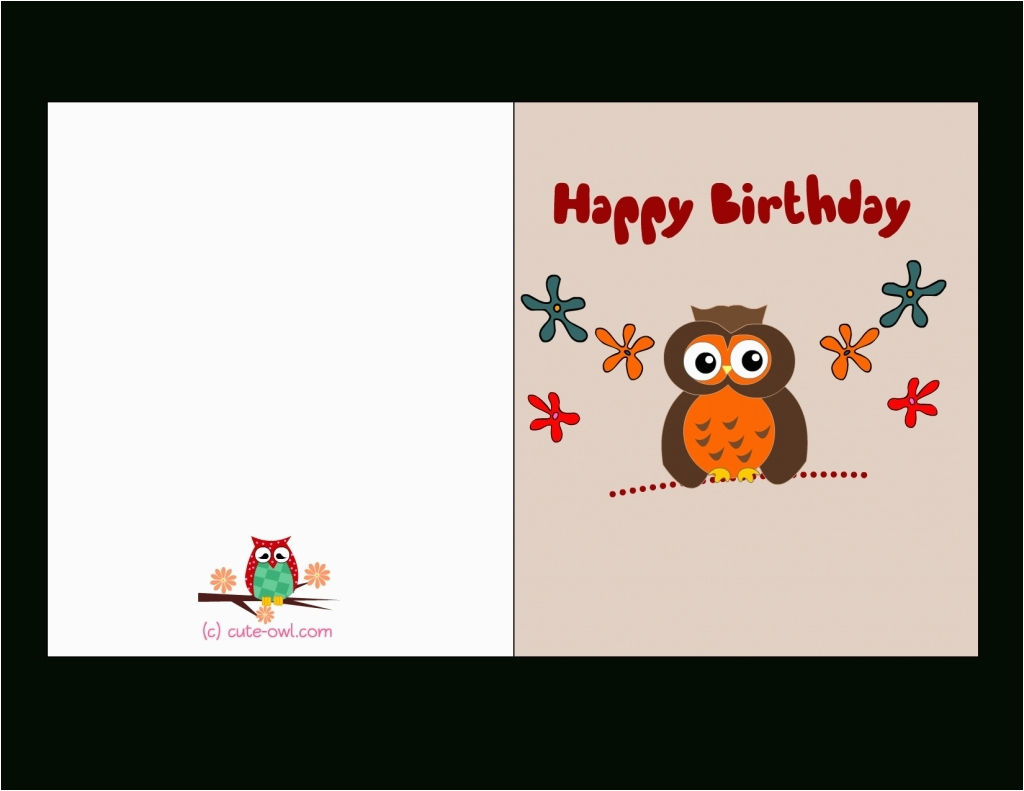 free printable birthday cards for adults world of