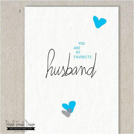 favorite husband card printable valentine card husband