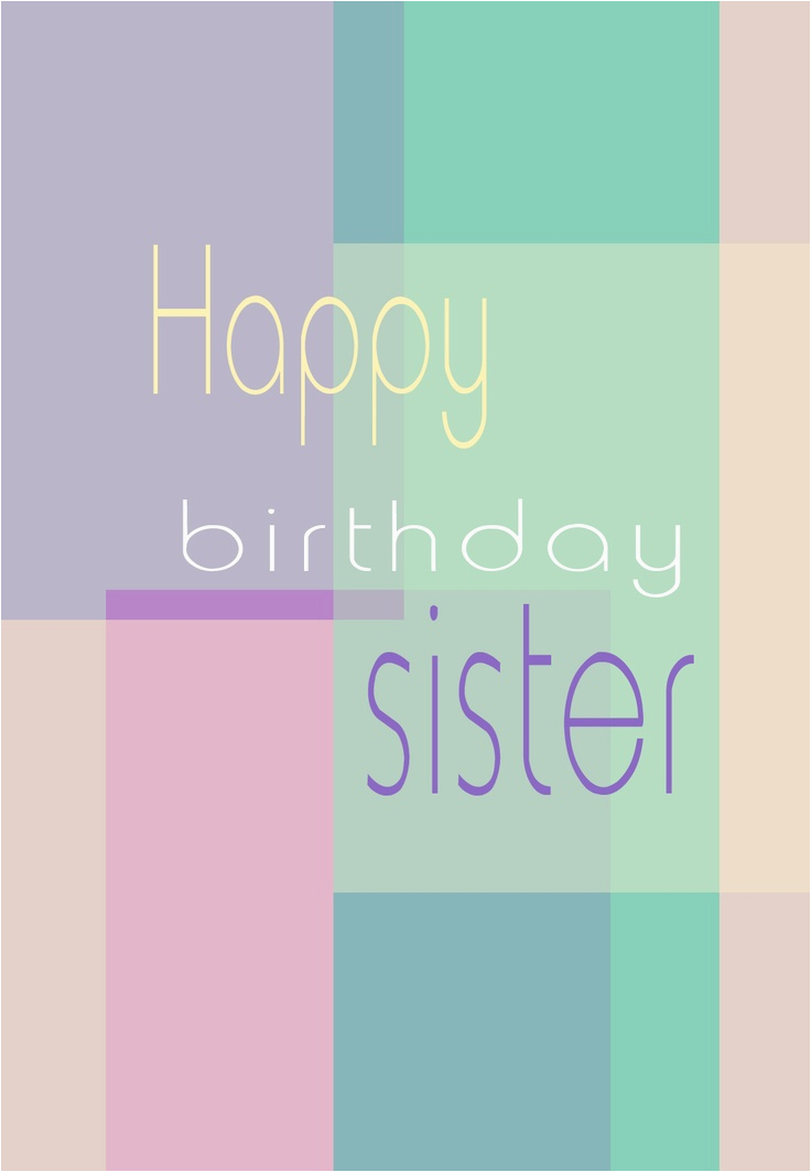 Printable Birthday Cards For Sister Online Free 138 Best Images About On Pinterest Print