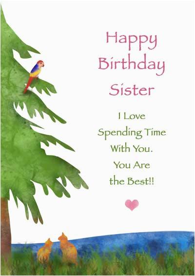post sister birthday cards to print free printable 89246