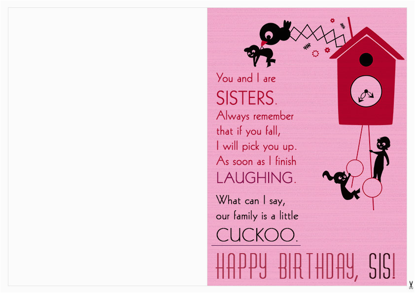 cool funny printable happy birthday card clipart ideas