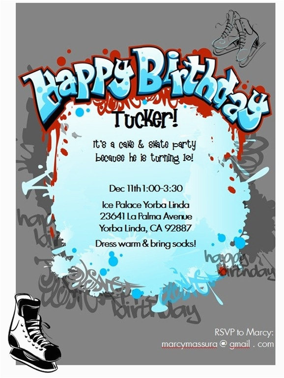 Printable Birthday Party Invitations For 12 Year Old Boy 17 Best