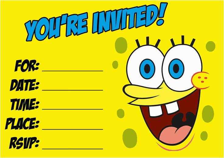Printable Birthday Party Invitations For 12 Year Old Boy Free